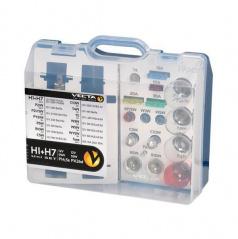 Box žiaroviek MEGA UNI 12V / H7 + H1