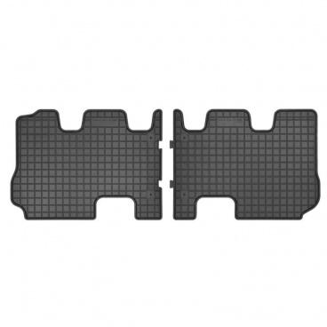 Gumové koberce, Hyundai Santa Fe III, 2015-2018, 3. rad sedadiel