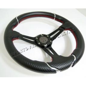 Športový volant WRC karbón 2 350 mm