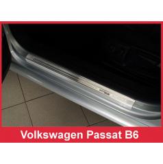 Nerez ochranné lišty prahu dverí 4ks Špeciálna edícia Volkswagen Passat B6 2005-10