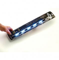 LED stroboskop 39 cm biely (30 LED s veľkosťou 5x3 mm !!!)