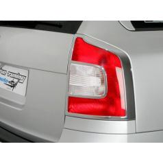 Rámček zadných svetiel combi - chrom Škoda Octavia II