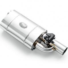 Sportovní výfuk RM s nastavitelnou elektrickou zvukovou klapkou