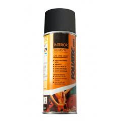 Čierna - matná farba na interiér - Foliatec Interior Color Spray