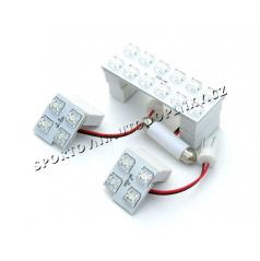 Škoda - stropné LED osvetlenie