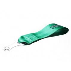 Ťažné oko textilné TAKATA - zelené, čierne