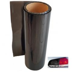 Transparentní fólie - kouřová tmavá  100x30 cm