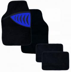 Autokoberce textilné - Shark - univerzálne modré