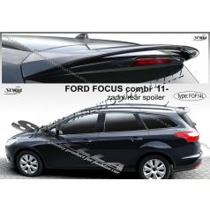 Ford Focus III combi 2011- zadný spoiler (EÚ homologácia)