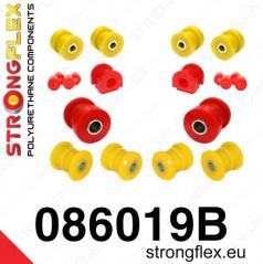 Honda CRX 1992-97 StrongFlex sestava silentbloků jen pro přední nápravu 14 ks