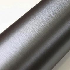 Nalepovacia 3D fólia brúsená strieborná tmavá 50x60 cm