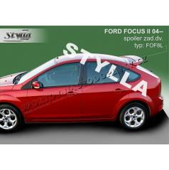 Ford Focus II HTB 04+ spoiler zadných dverí horný (EÚ homologácia)