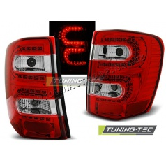 Chrysler Jeep Grand Cherokee 1999-05.2005 zadní lampy red white LED (LDCH08)