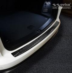 Karbón kryt - ochrana prahu zadného nárazníka Volkswagen Touareg III 2018+