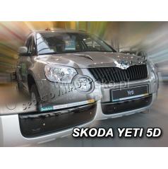 Zimná clona - kryt chladiča Škoda Yeti 5 dveř. 2009 + (spodný)