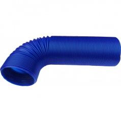 Plastové vzduchové vedenie pre športové sanie modré 77 mm
