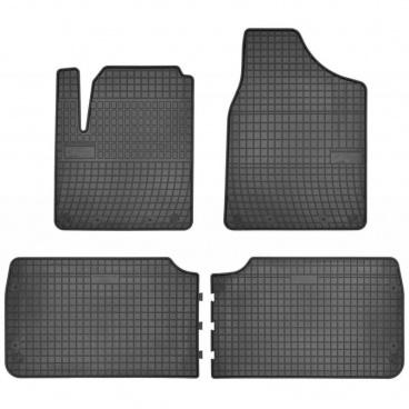 Gumové koberce, SEAT ALHAMBRA I, 1995-2010, 5 sedadlami.