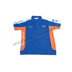 Oficiálna Ford Rally Team - edícia Marcus Gronholm - Tímová polo-košela WRC Modro / Oranžová - M