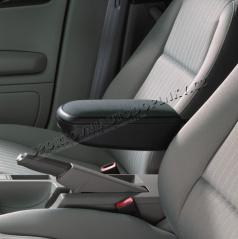 Lakťová opierka Milotec - čierny semiš, Škoda Octavia II + Facelift