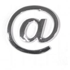 Znak-@-Plastic samolepiaci