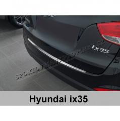 Ochranná lišta hrany kufru-nerez-Hyundai ix35