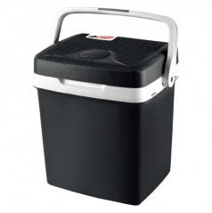 Chladící box 24 litrů 12V/ 220V černý (do auta, domů nebo kanceláře)