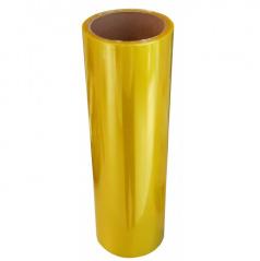 Transparentné fólie - žltá 100x30 cm