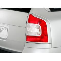 Škoda Octavia II rámček zadných svetiel combi pre lak