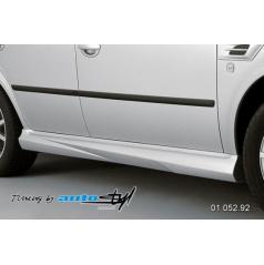 Škoda Octavia 2001 nástavky prahov - pre lak