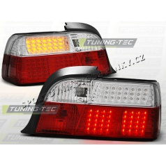 BMW E36 1990-99 Coupe zadné LED lampy red white (LDBM36)