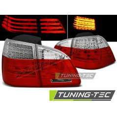 BMW E61 2004-03.2007 Touring zadné LED lampy red white (LDBME0)