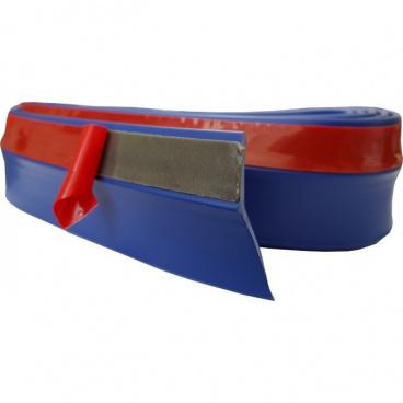 Univerzálny spodný pružný lip s podlepením modrý