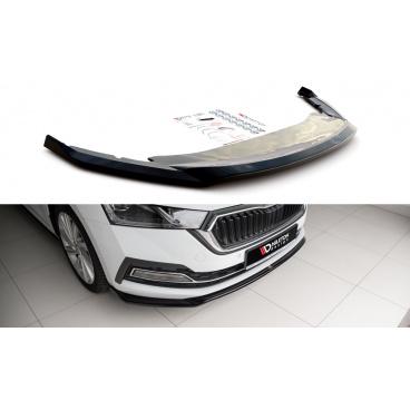 Spoiler pod predný nárazník ver.2 pre Škoda Octavia Mk4, Maxton Design (plast ABS bez povrchovej úpravy)