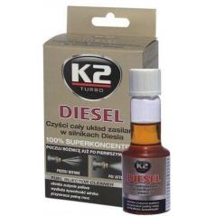 K2 Diesel - aditívum do paliva 50 ml