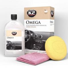 Oživovač plastov K2 500 ml + hubka a utierka