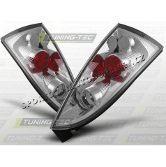 Ford Focus MK1 1998-04 zadné lampy chrome (LTFO17)