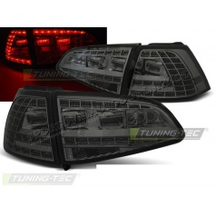 VW Golf 7 2013 zadné lampy smoke LED GTI Look (LDVWG2)