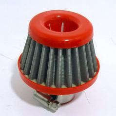 Športový oddychový filter Racing 25 mm vstup - kovová filtrácia
