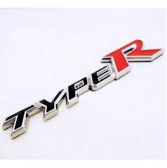 Znak TYPE R chrom provedení s podlepením
