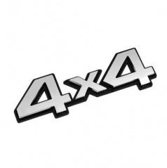 Plastické logo  4x4 s podlepením (100x35 mm)