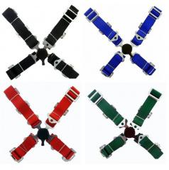 4-bodové bezpečnostné pásy CAM LOCK 50 mm (rôzne farby)