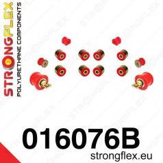 Alfa Romeo 147 Strongflex zostava silentblokov len pre zadnú nápravu 12 ks