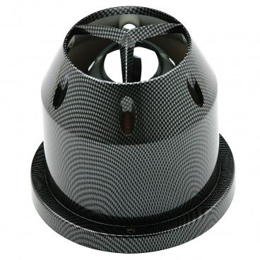 Športový vzduchový filter s tepelným chróm štítom