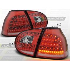 VW Golf V 2003-09 zadné LED lampy Red White (LDVW69)