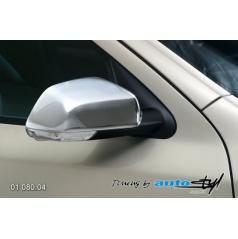Kryt spätného zrkadla - chrom Škoda Octavia II