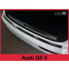 Nerez kryt- čierna ochrana prahu zadného nárazníka Audi Q5 II 2016+