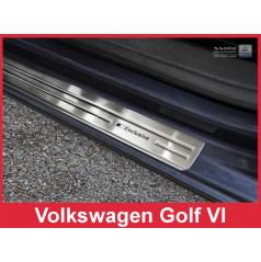 Nerez ochranné lišty prahu dverí 4ks Volkswagen Golf 6 2008-16