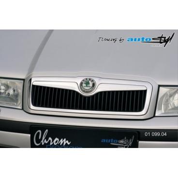 Lišta masky - chrom, Škoda Octavia