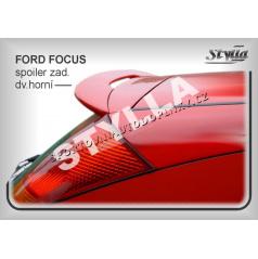 Ford Focus HTB (98+) spoiler zadných dverí horný (EÚ homologácia)