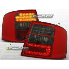 AUDI A6 (C5) AVANT 1997-04 zadné LED lampy RED SMOKE (LDAU40)